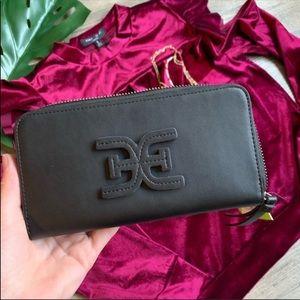 Sam Edelman | Sophia Zip Around Wallet Black New